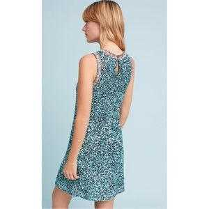 5e3a1686af1e Anthropologie Dresses - ANTHROPOLOGIE Astronomy mint sequin swing dress